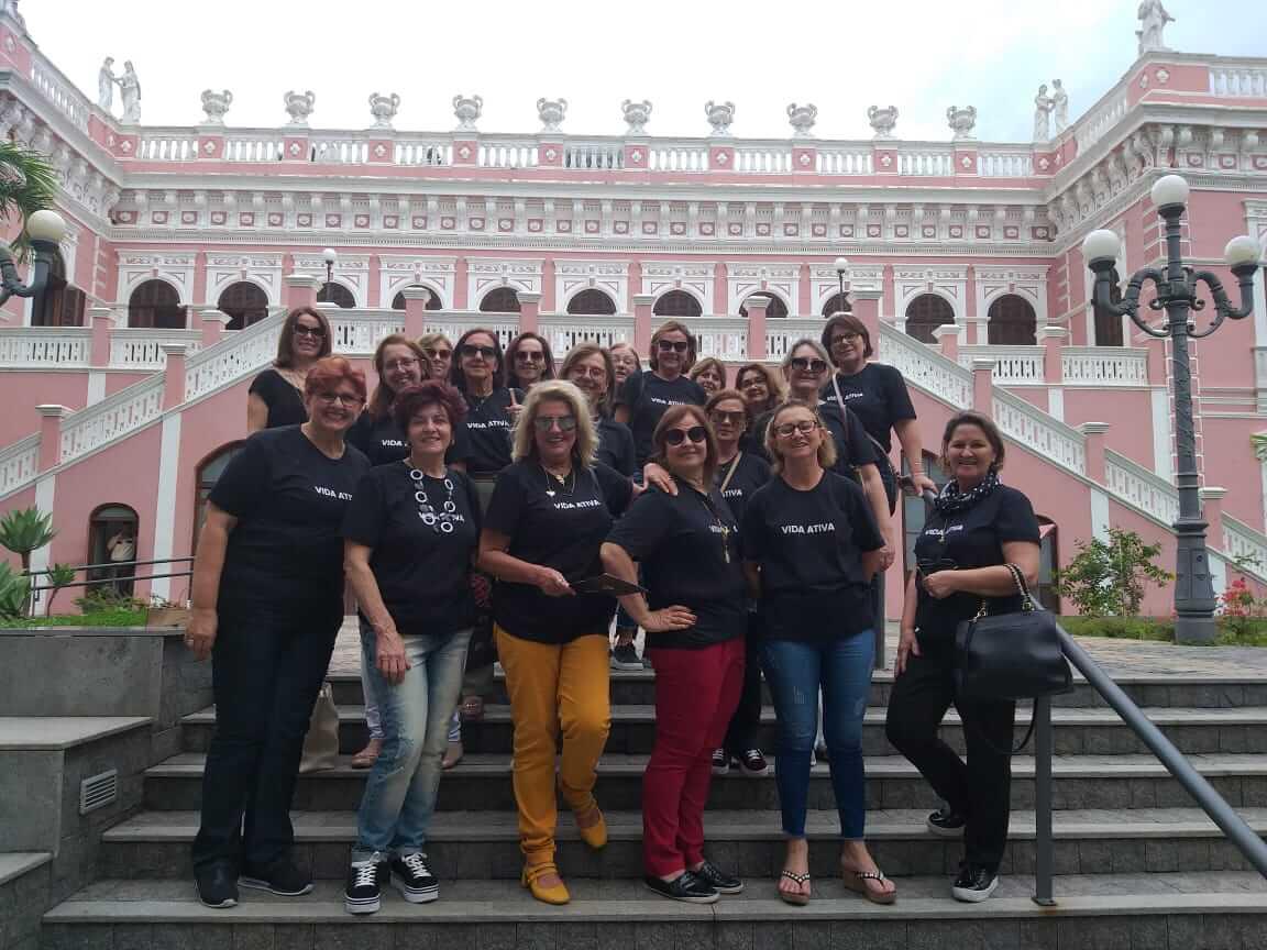 Estudantes do Vida Ativa visitam Florianópolis