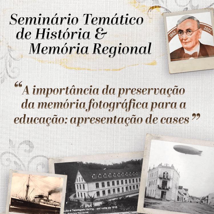 Evento virtual celebrará a história e memória fotográfica regional