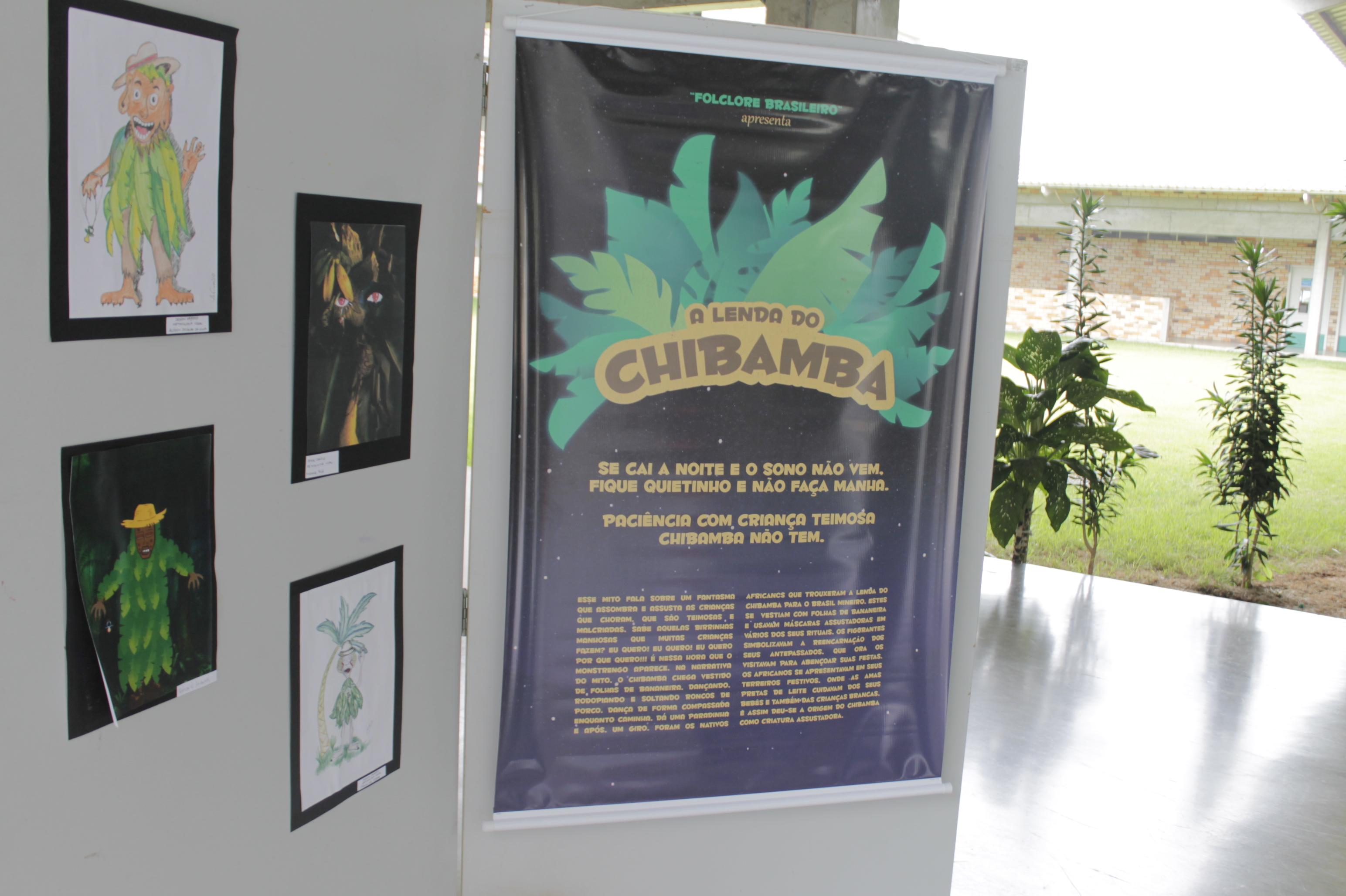 Folclore brasileiro é tema de exposição de Design Gráfico