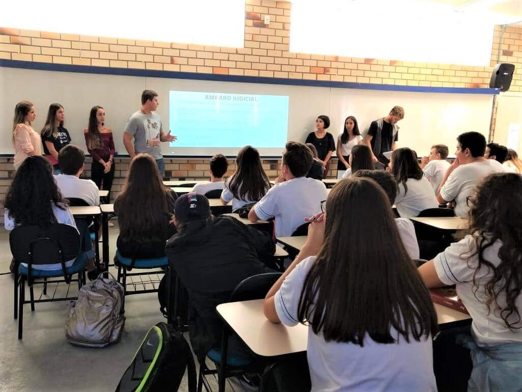 Bullying virtual é tema de palestra no Colégio Universitário de Brusque