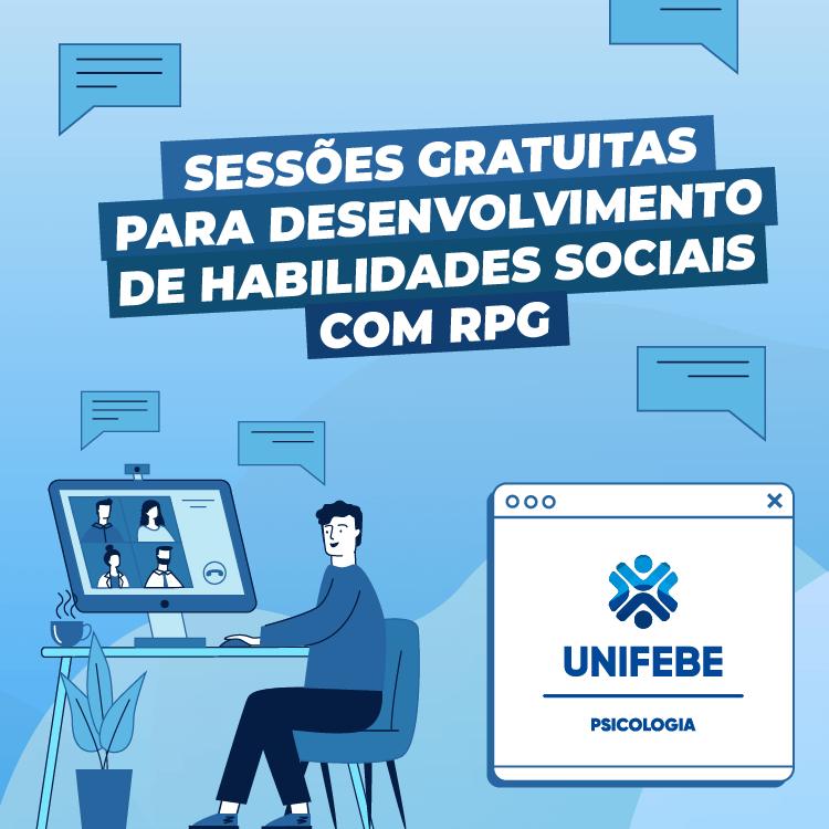 Curso de Psicologia da UNIFEBE promove sessões gratuitas para desenvolvimento de habilidades sociais