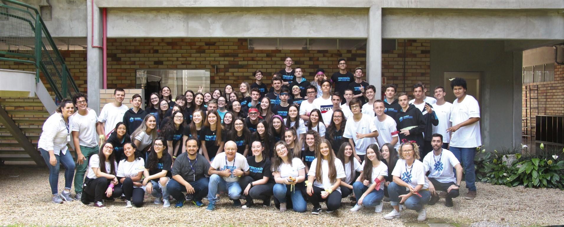 Gincana Educativa marca primeiro ano do Colégio Universitário de Brusque