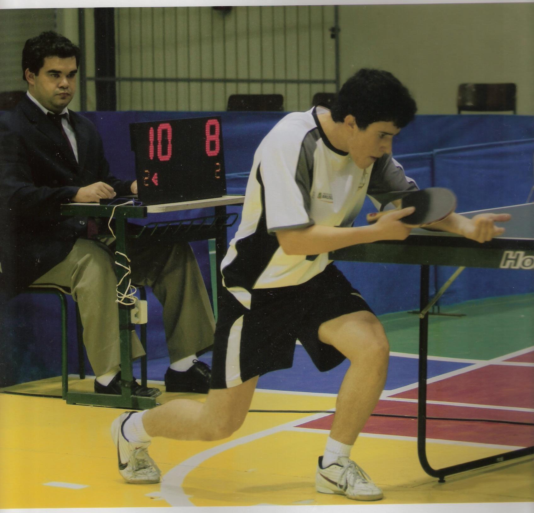 Atletas do tênis de mesa disputam o brasileiro em Piracicaba