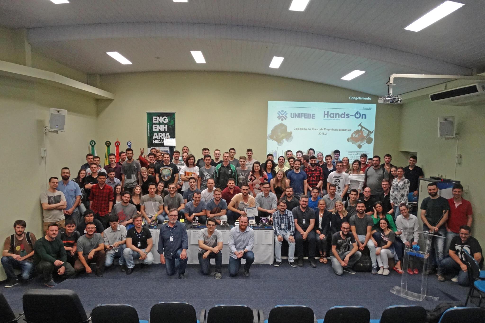 Hands-on premia estudantes de Engenharia Mecânica