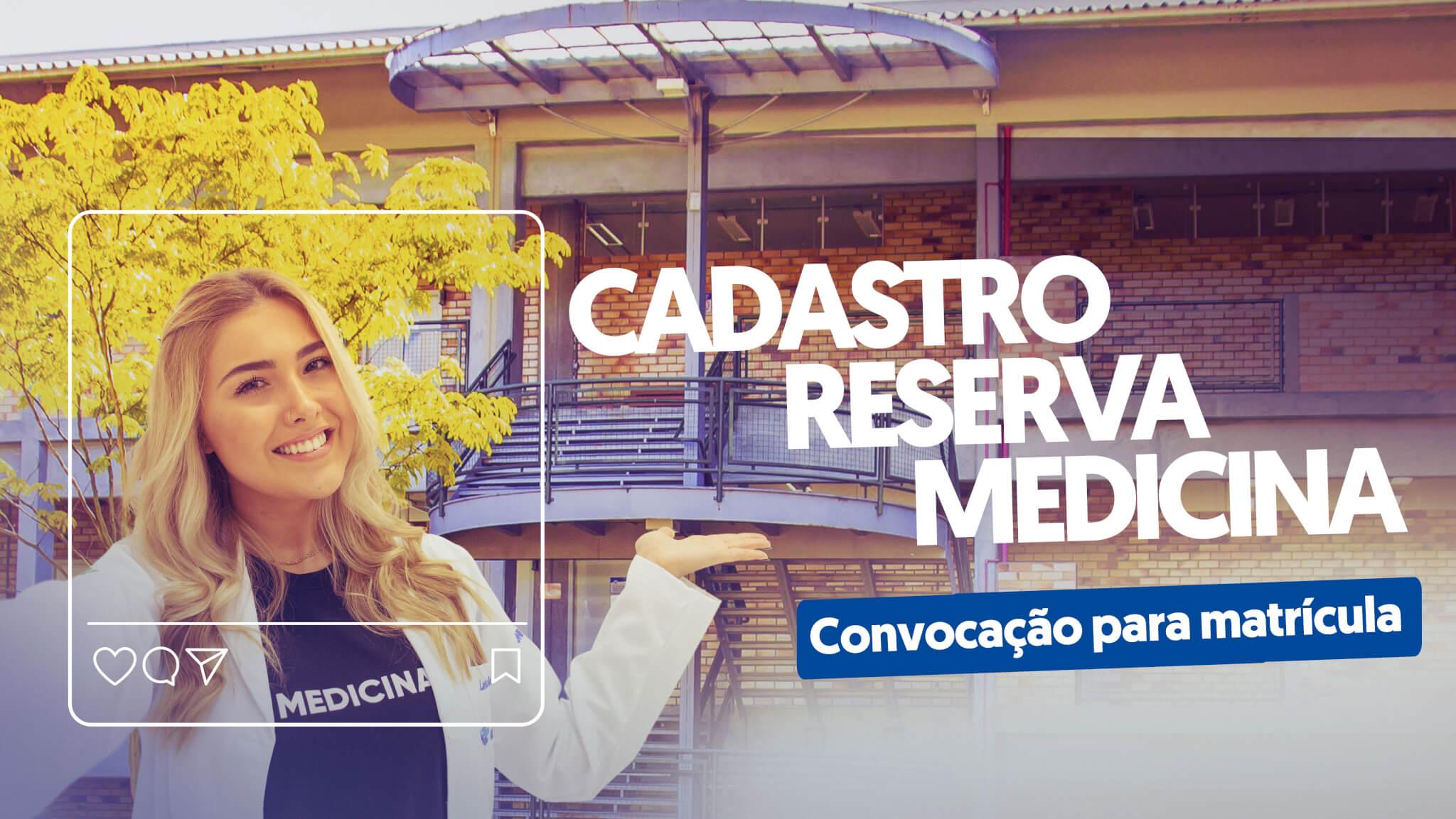 Banner site cadastro reserva Medicina convocação MOBILE