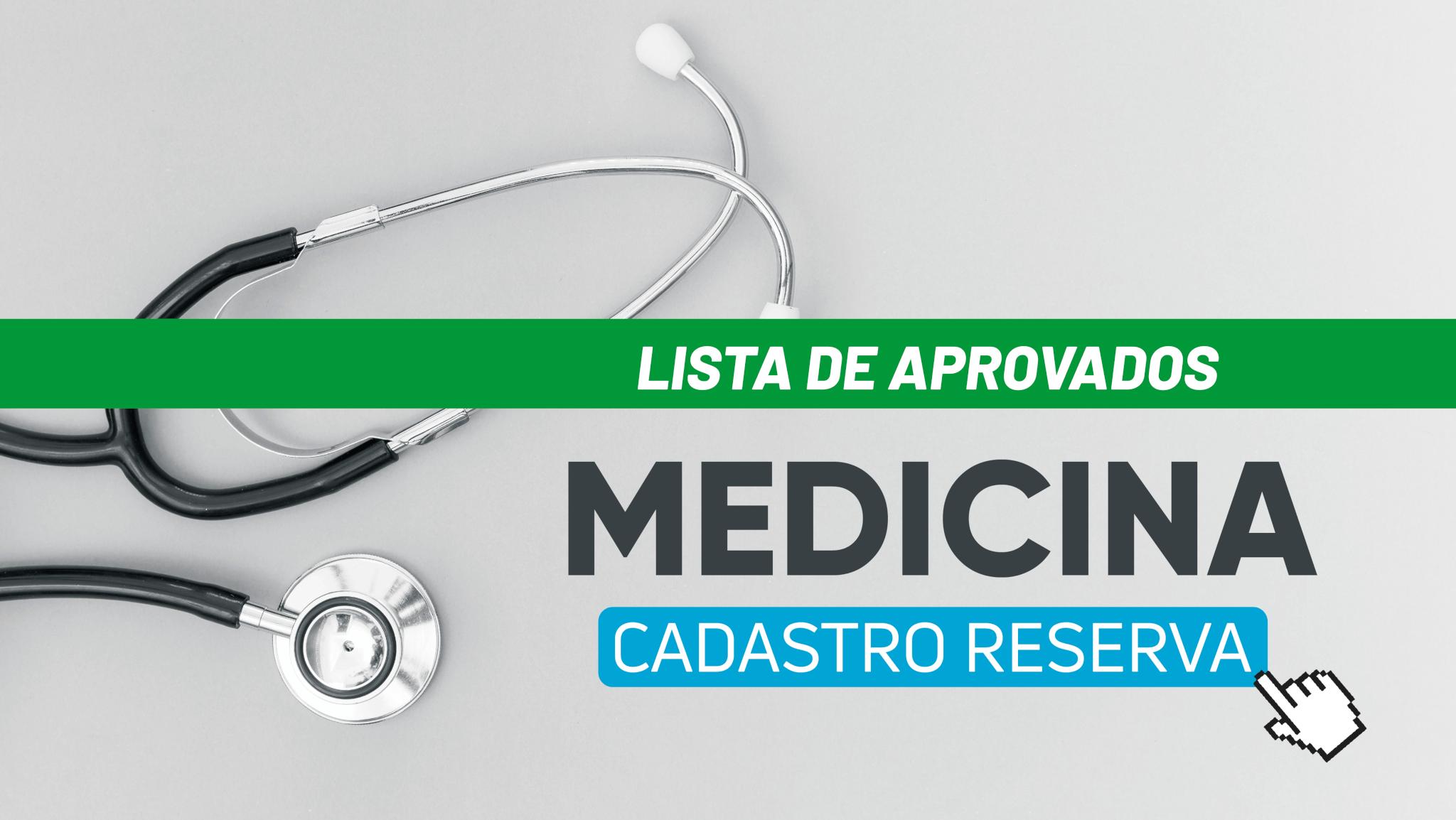 Banner site lista de aprovados cadastro reserva medicina mobile