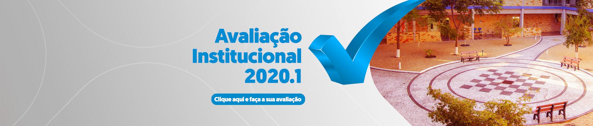 Avaliação Institucional Banner desktop