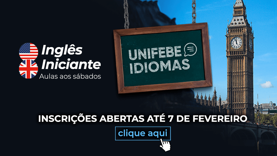 Banner Mobile UNIFEBE Idiomas