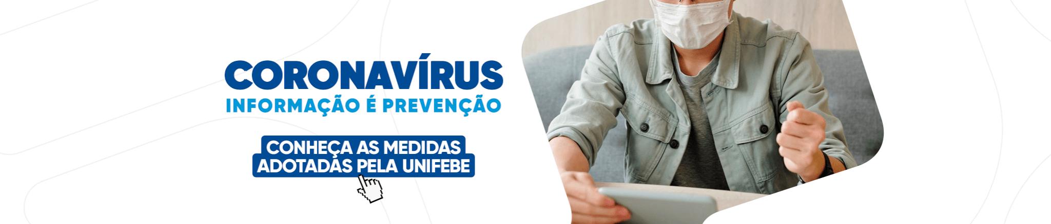 Coronavírus Informação é Prevenção DESKTOP