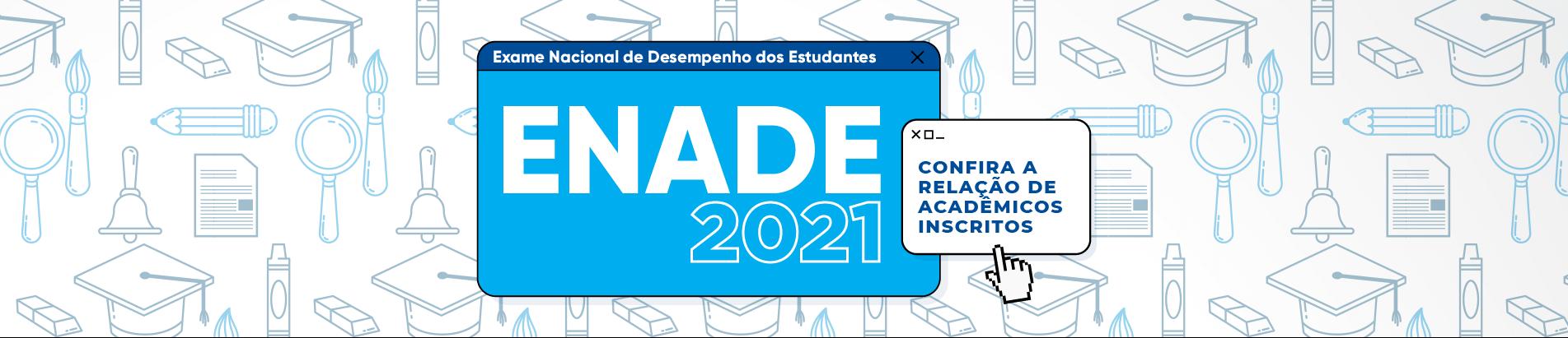 Banner ENADE 2021 DESKTOP