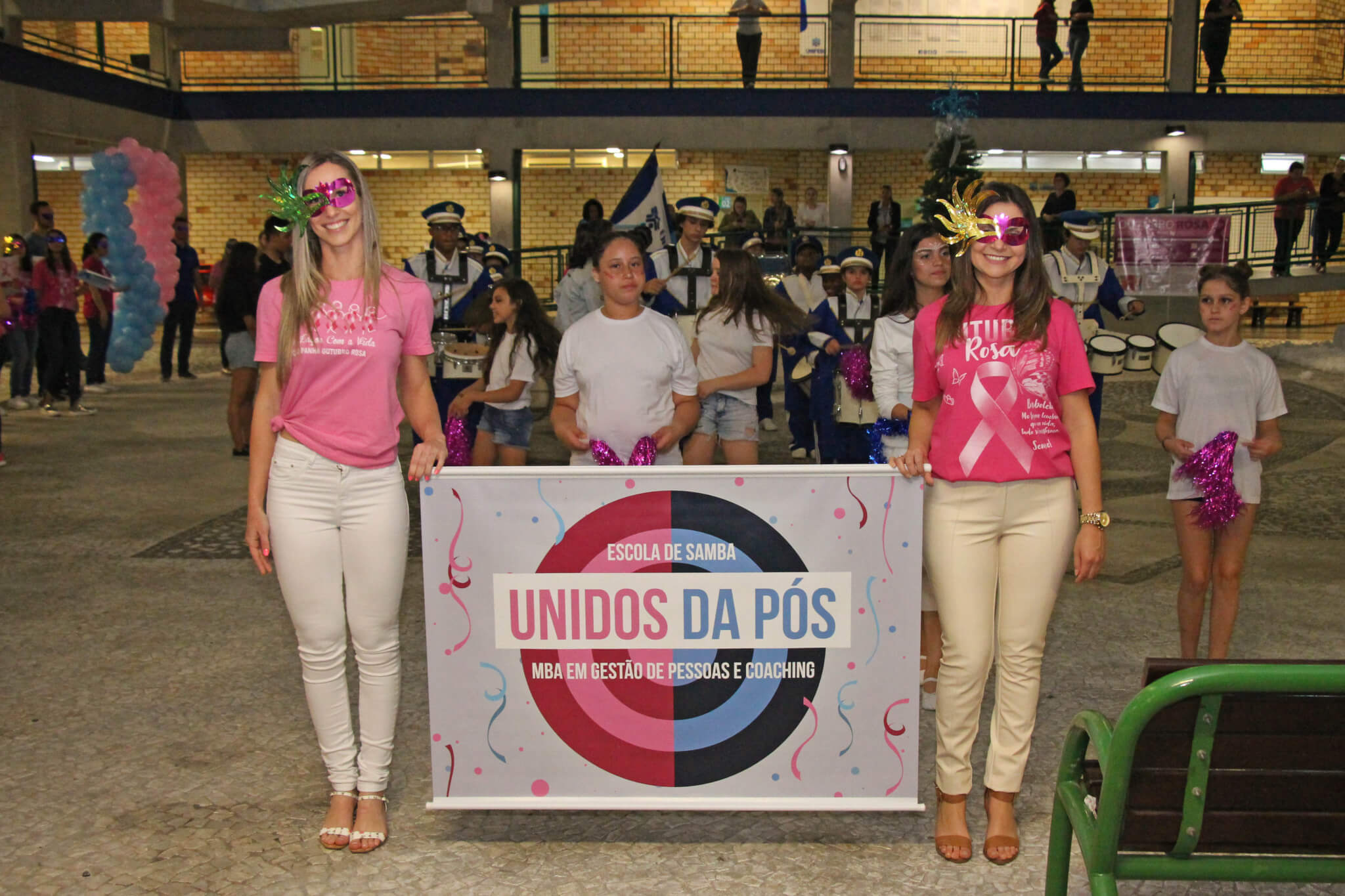 Outubro Rosa e Novembro Azul: UNIFEBE realiza ações de conscientização