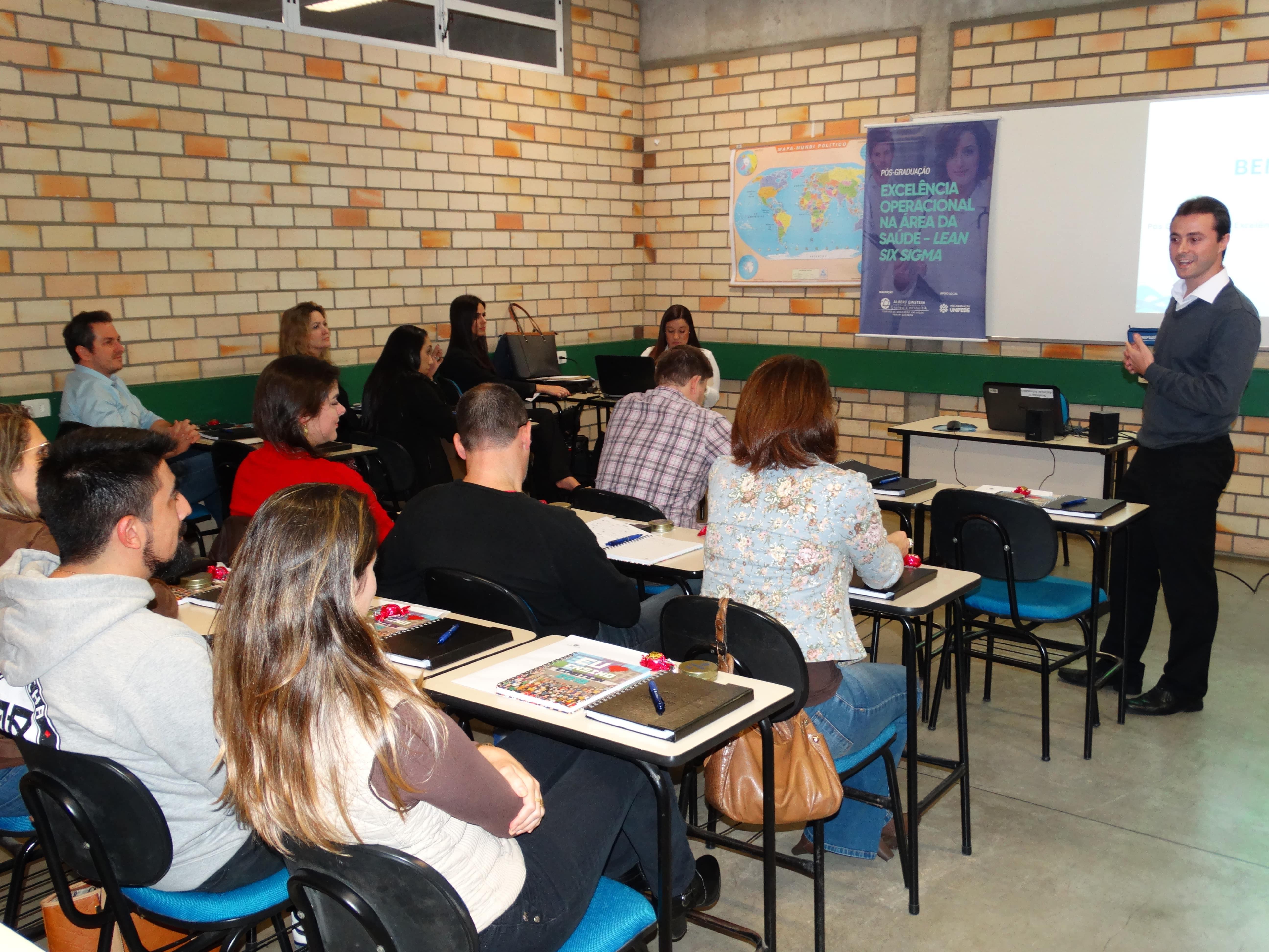 Iniciada primeira turma de pós-graduação do Hospital Israelita Albert Einstein na UNIFEBE