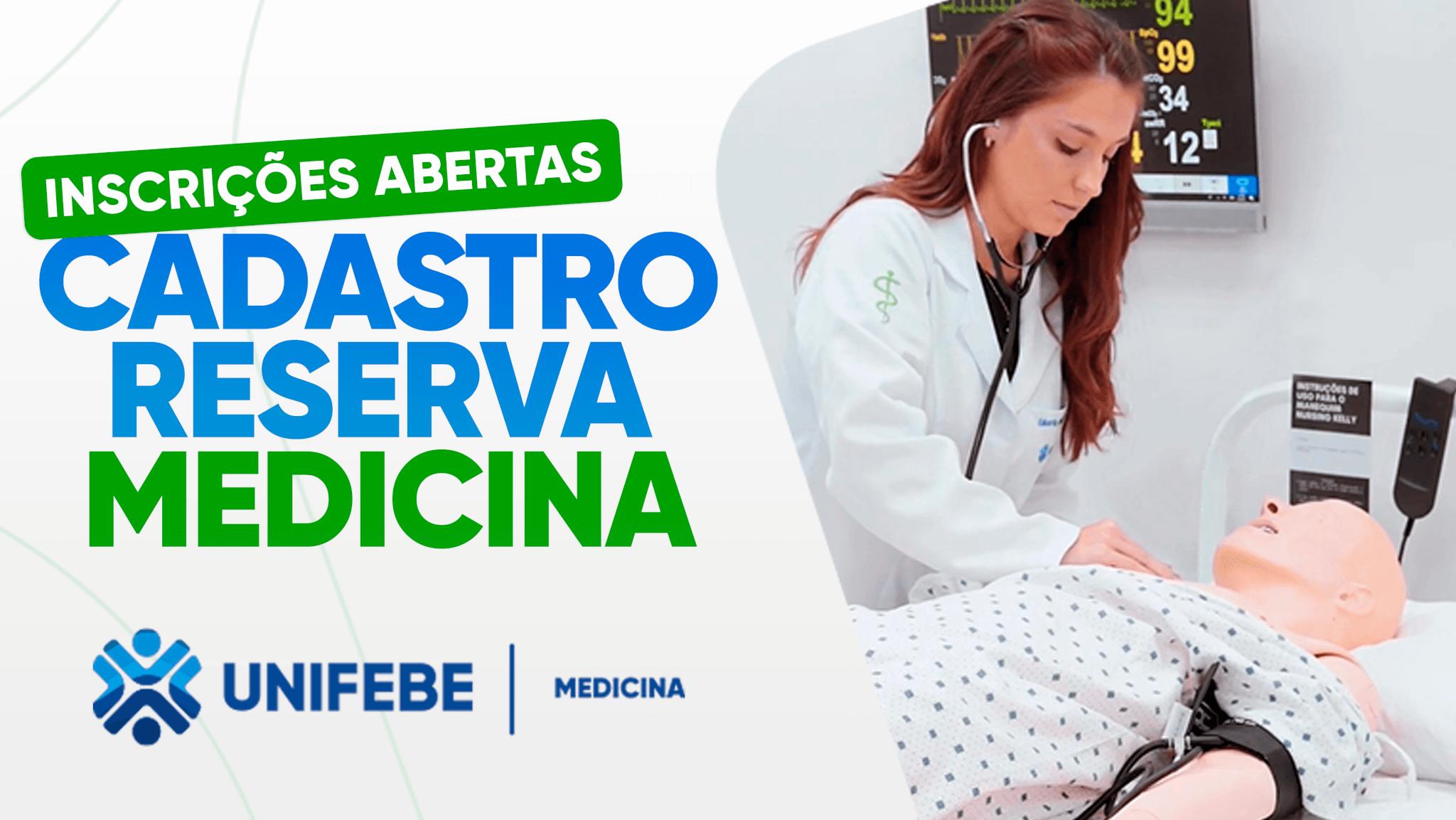 Inscrições MOBILE - Cadastro Reserva Medicina 2021.2
