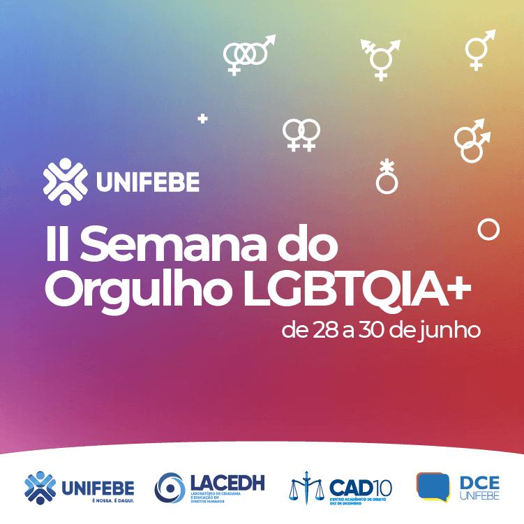 Lançamento de livro abrirá a Semana do Orgulho LGBTQIA+ da UNIFEBE
