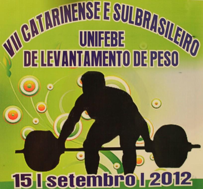 UNIFEBE sedia campeonato de levantamento de peso