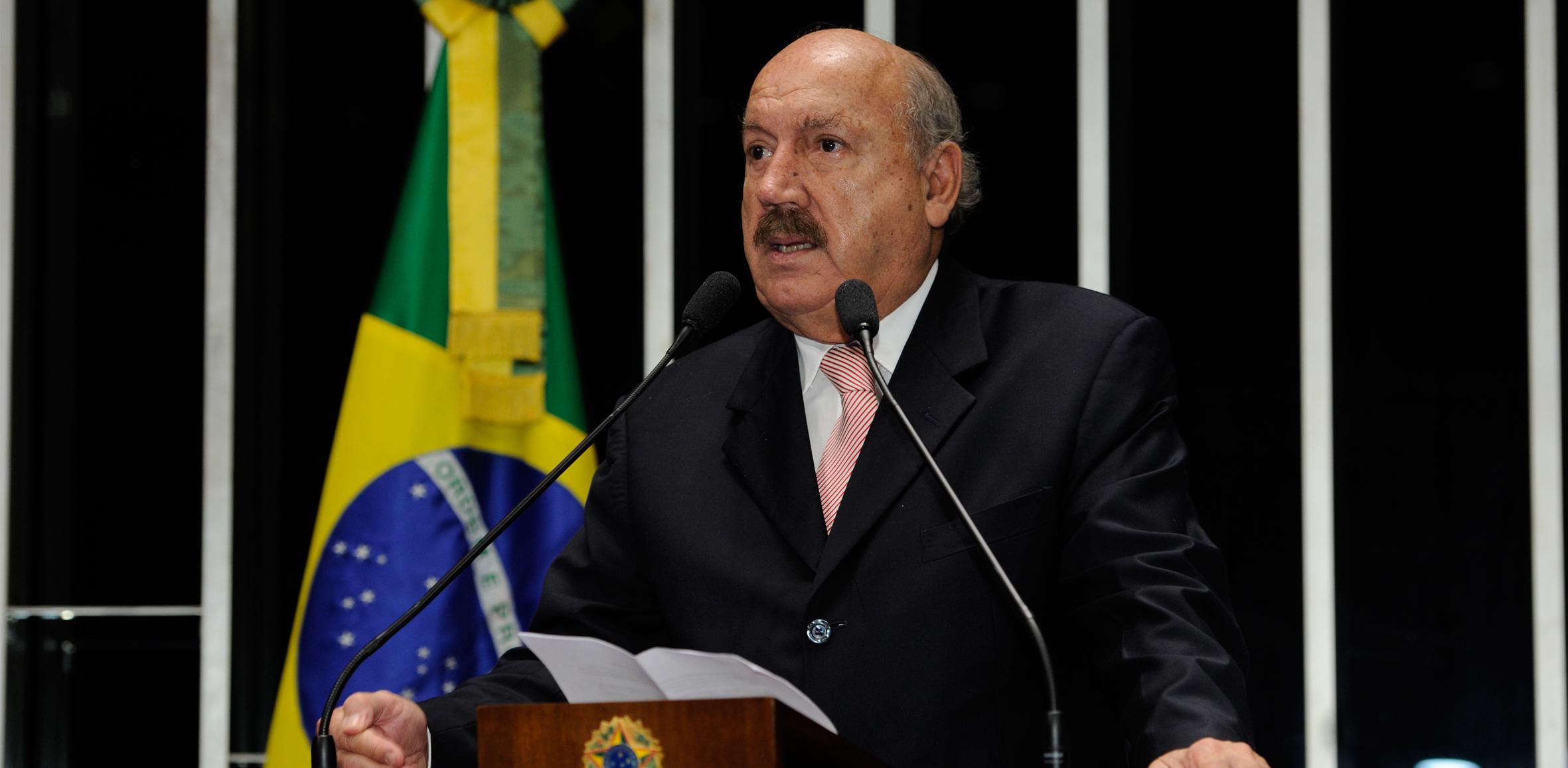 Em nome das Associadas, ACAFE lamenta morte do Senador Luiz Henrique da Silveira