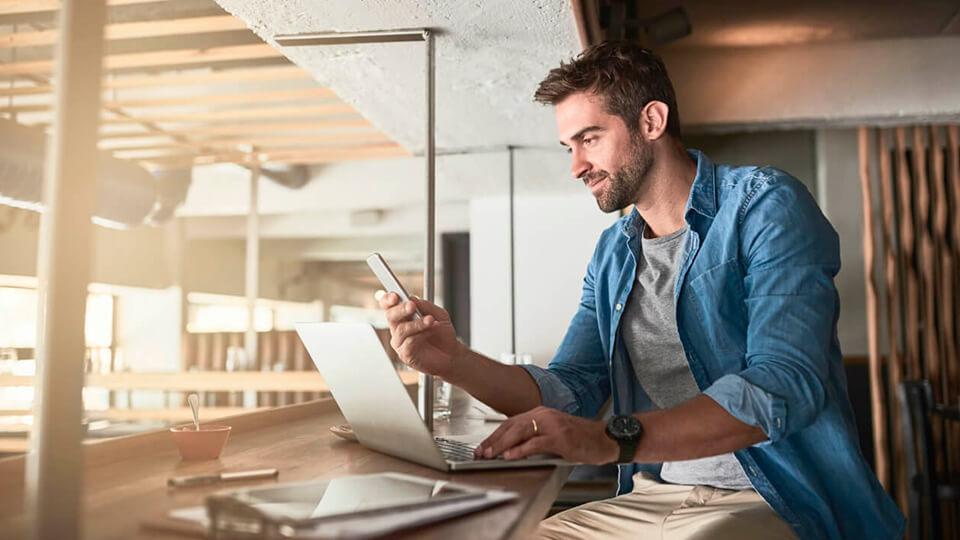 Landing Page Mobile MBA em Multicanais de Vendas - UP
