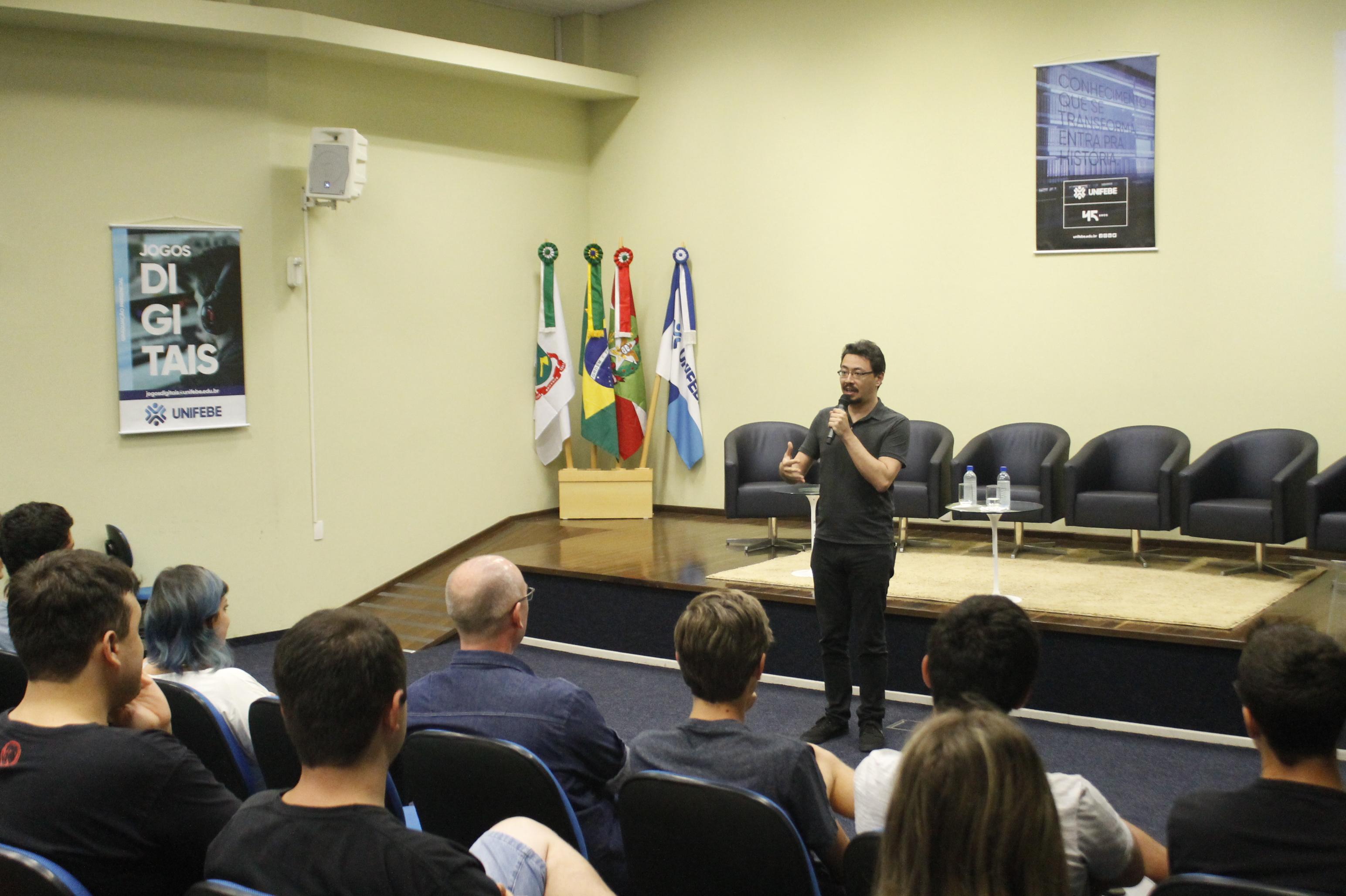 Mercado de Jogos Digitais é tema de palestra na UNIFEBE