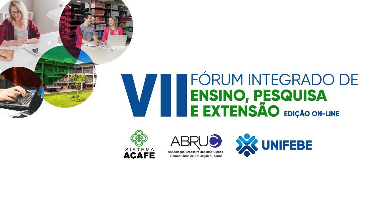 Edição virtual do VII Fórum Integrado de Ensino, Pesquisa e Extensão inicia na próxima quinta-feira (26)