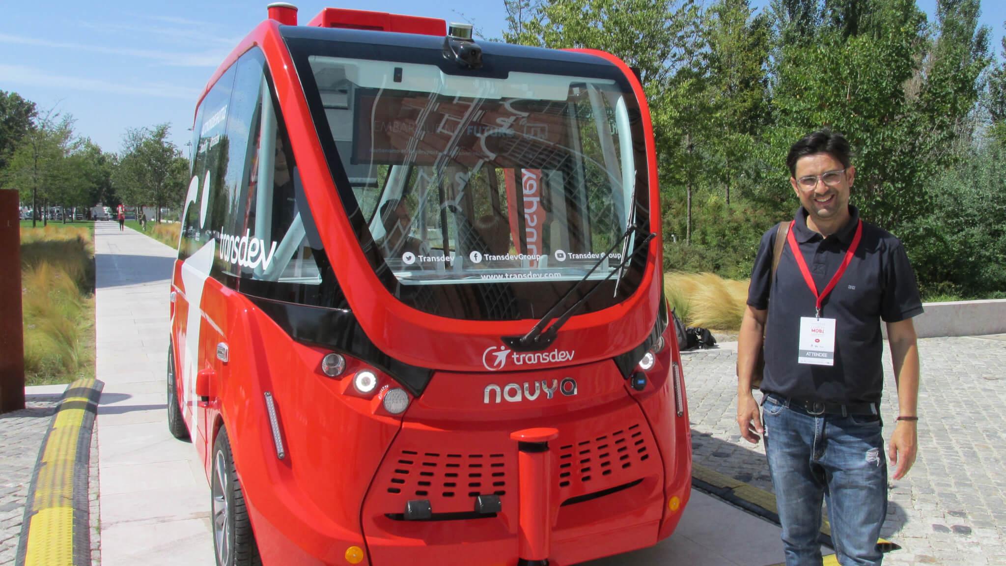 Professor participa de evento de mobilidade urbana em Lisboa