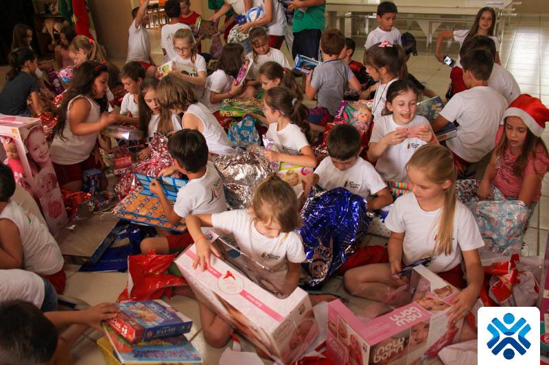 Natal Solidário Escola Aguti – Nova Trento