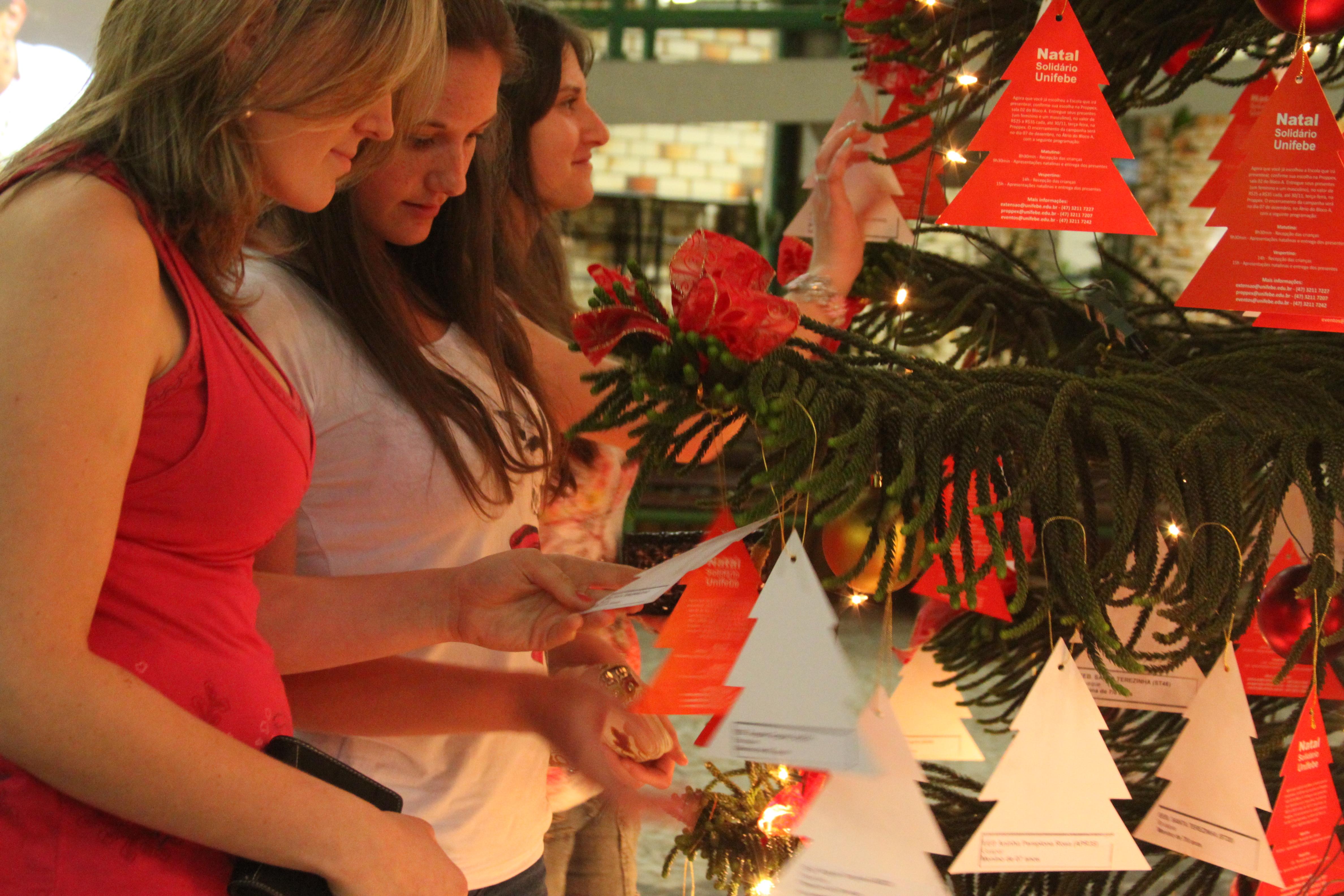 Campanha Natal Solidário é lançada na Unifebe