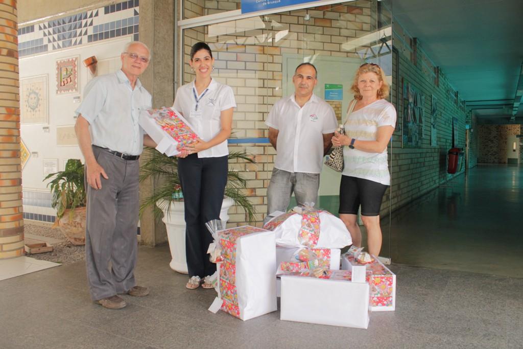 Ampe é parceira do Natal Solidário UNIFEBE