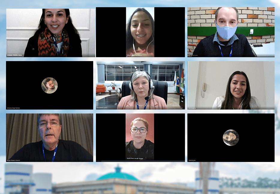 Novos alunos da UNIFEBE recebem as boas-vindas em recepção virtual
