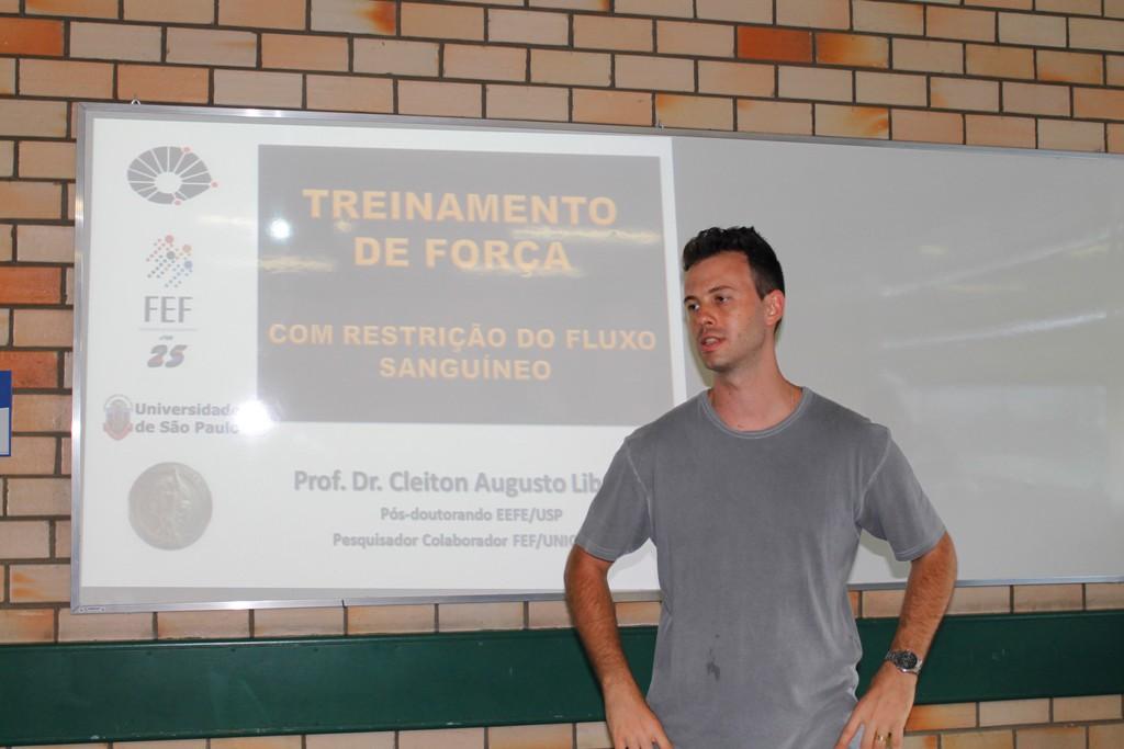 Educação Física promove palestra sobre treinamento de força