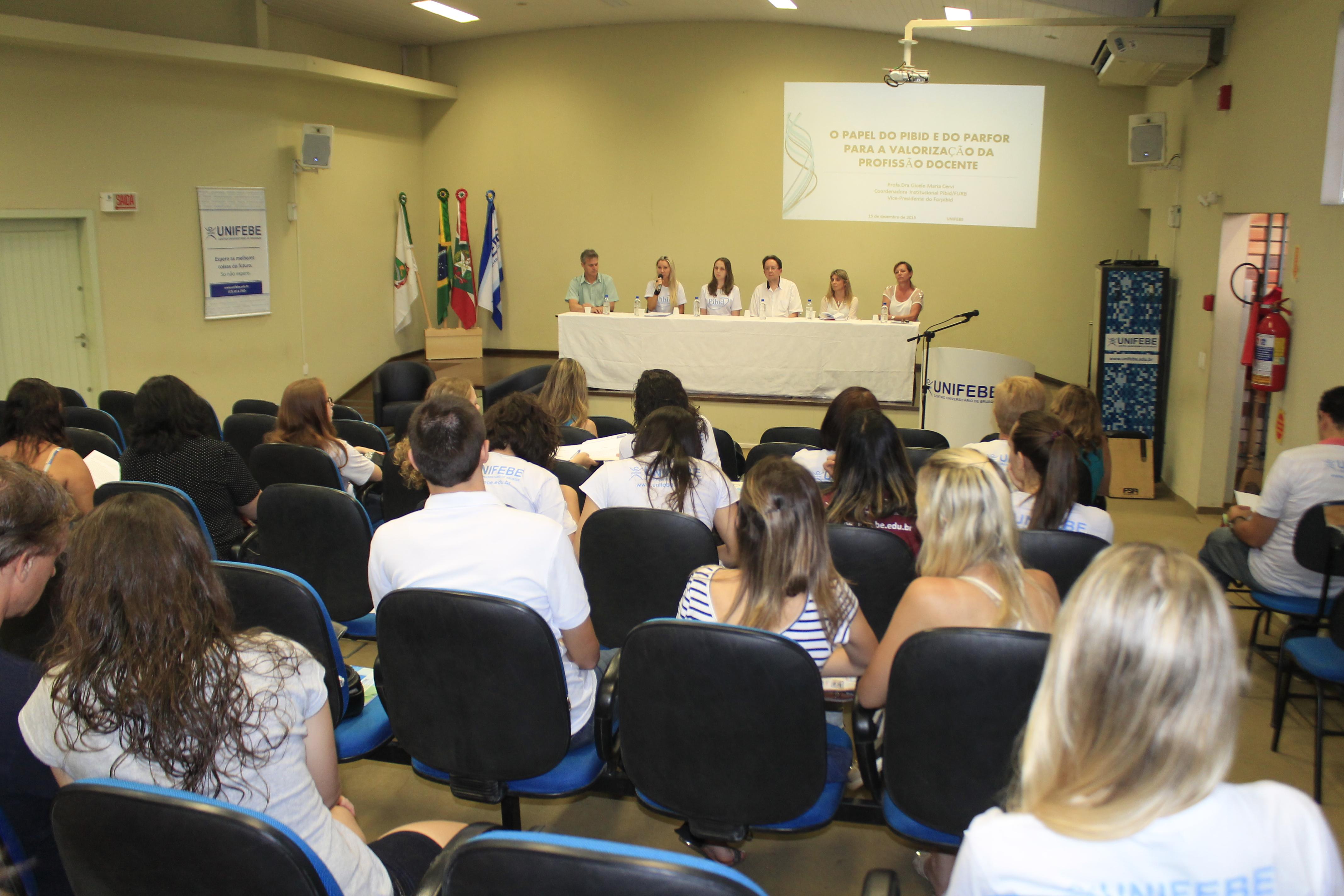 UNIFEBE realiza 2º Seminário do Programa Institucional de Bolsa de Iniciação à Docência