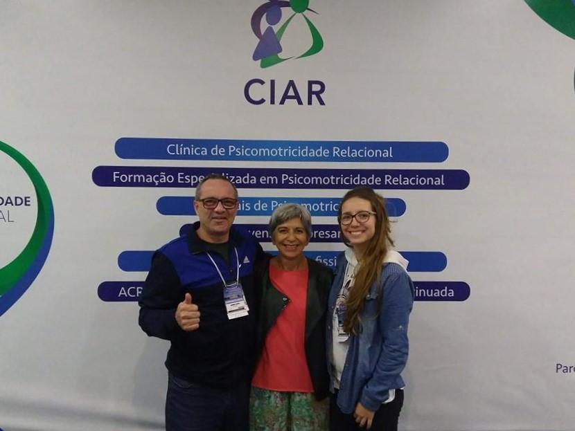 Professor e aluna de Educação Física participam de Congresso Internacional