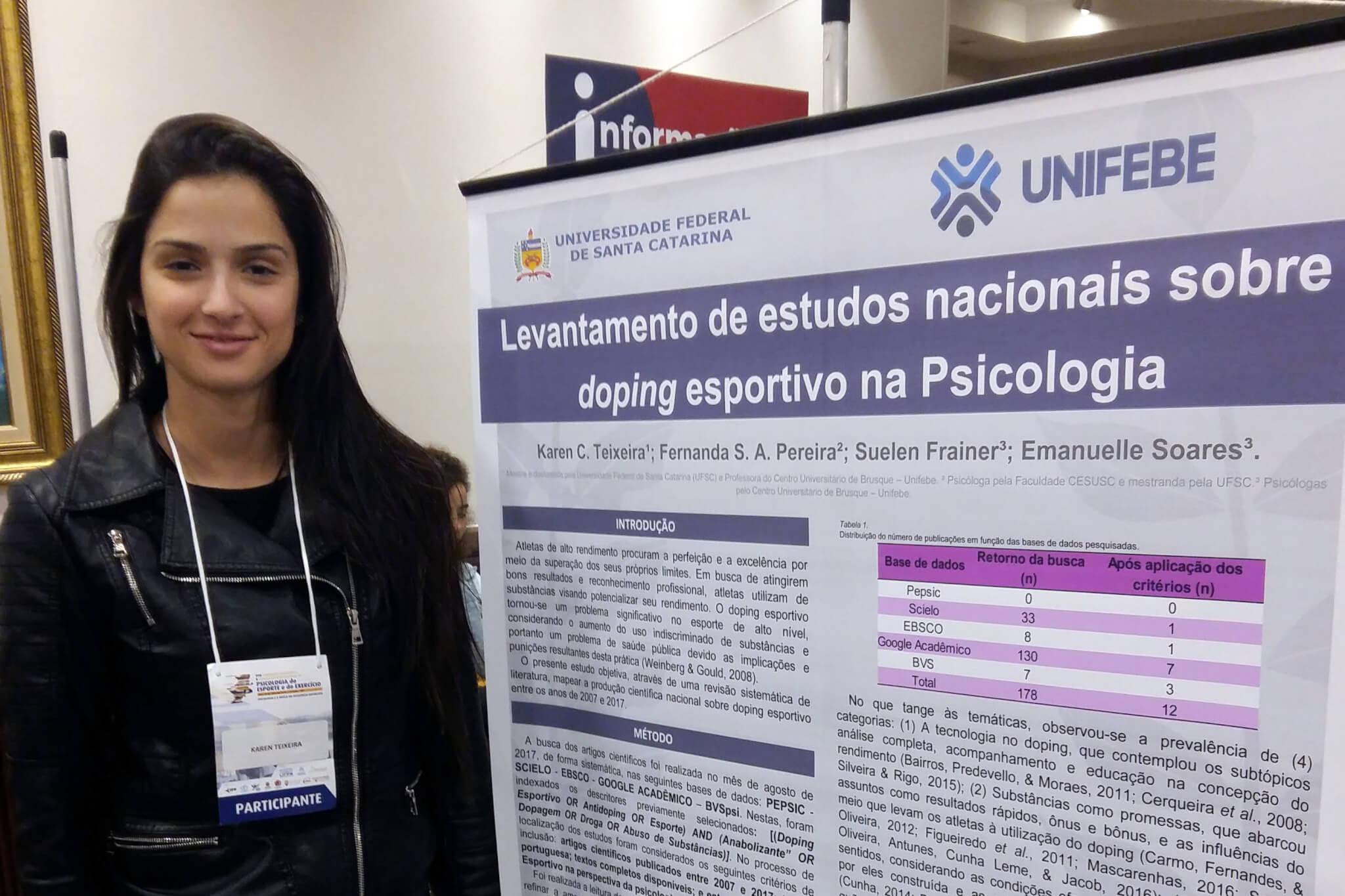 Professora apresenta pesquisa em evento internacional de Psicologia