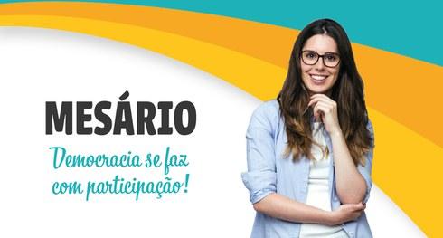 Mesários Voluntários serão isentos de taxa de concurso público em Santa Catarina