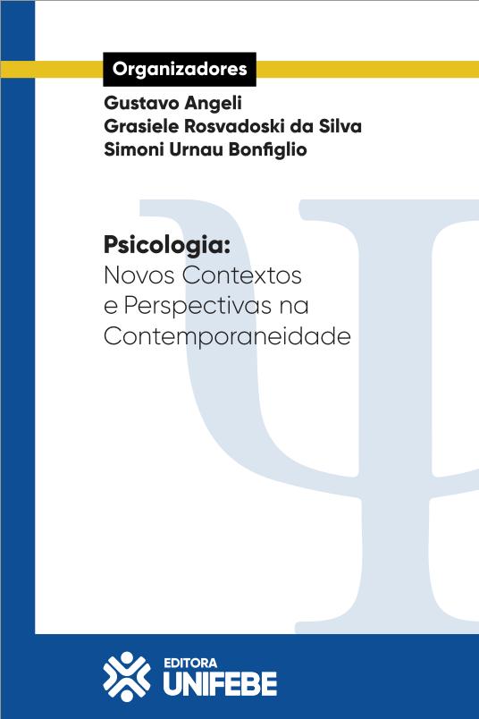 psicologia – novos contextos e perspectivas na contemporaneidade – capa