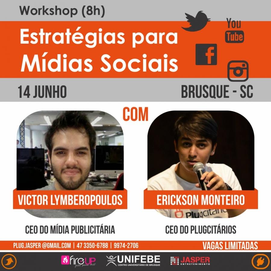 Redes Sociais é tema de workshop com blogueiros do Plugcitários e Mídia Publicitária
