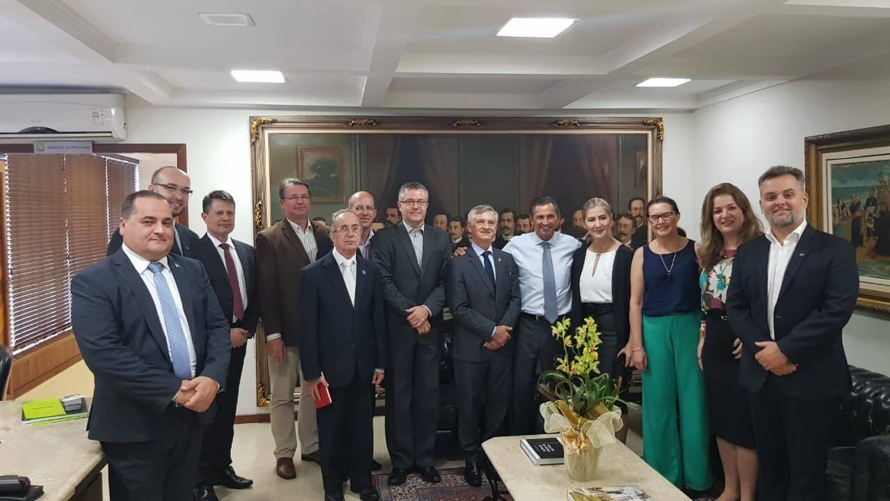 Reitor tem agenda de compromissos no parlamento catarinense