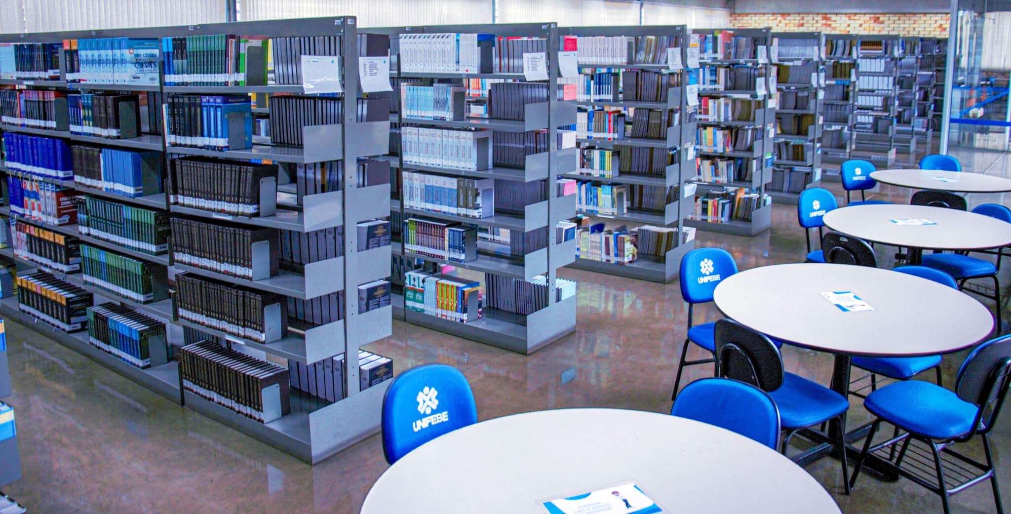 Renovação de livros da Biblioteca segue até dia 1º de julho