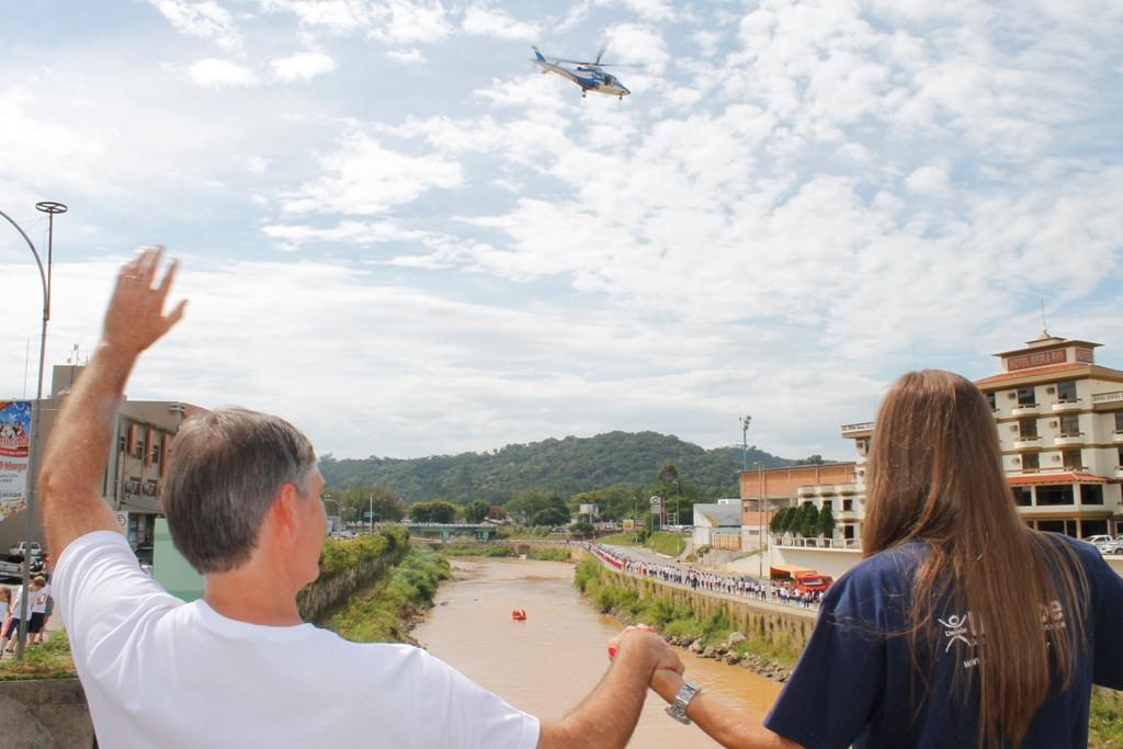 UNIFEBE apoia II Descida do Rio Itajaí-Mirim