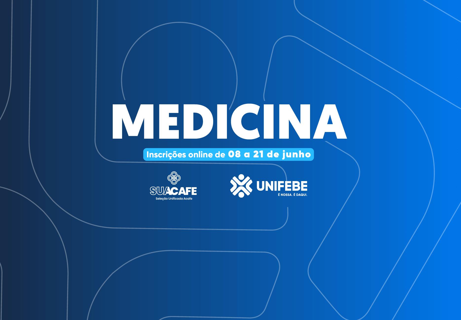 Seleção de estudantes para Medicina segue até dia 21 de junho