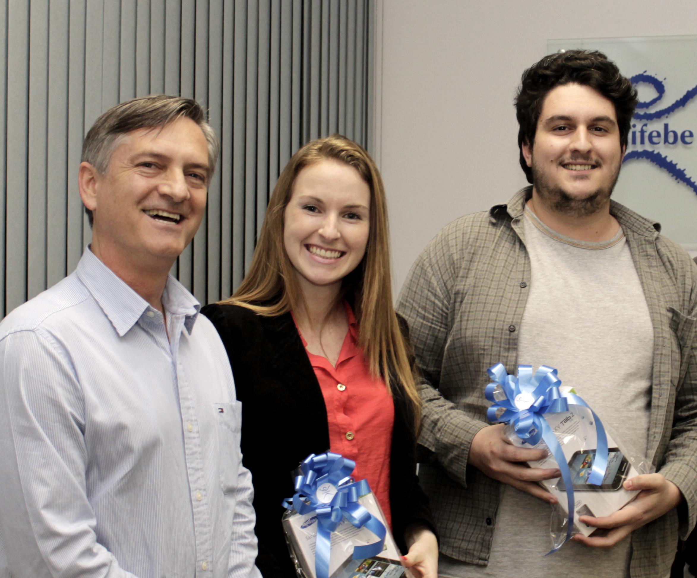 UNIFEBE premia vencedores do selo e slogan dos 40 Anos