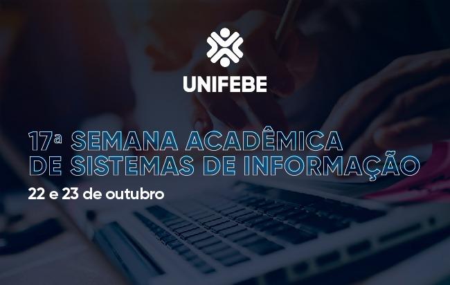 Sistemas de Informação abre inscrições para 17ª Semana Acadêmica