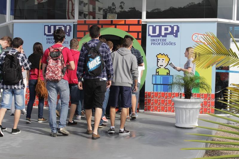 UP – UNIFEBE PROFISSÕES orienta estudantes do ensino médio na escolha da carreira