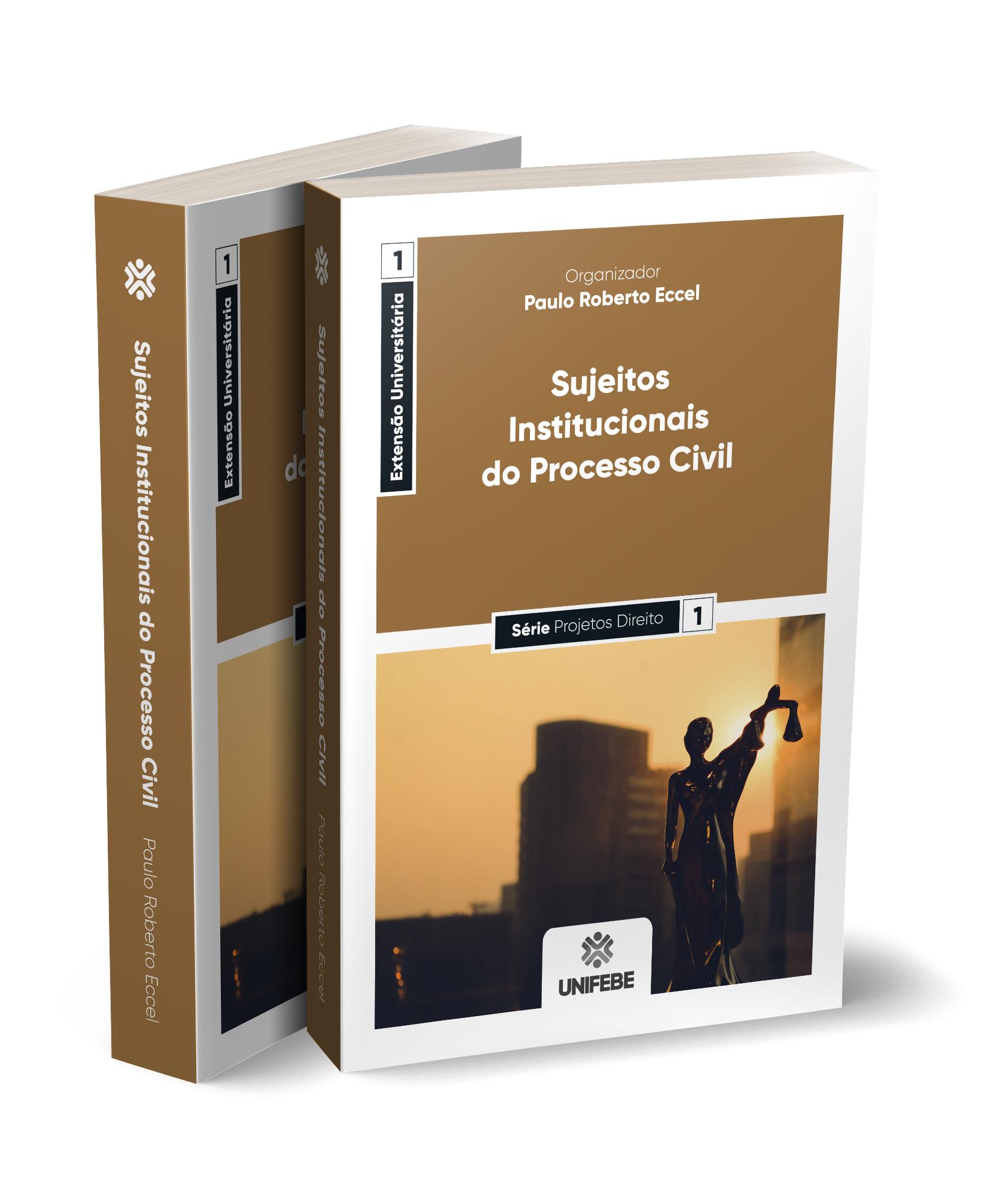 sujeitos institucionais do processo civil capa