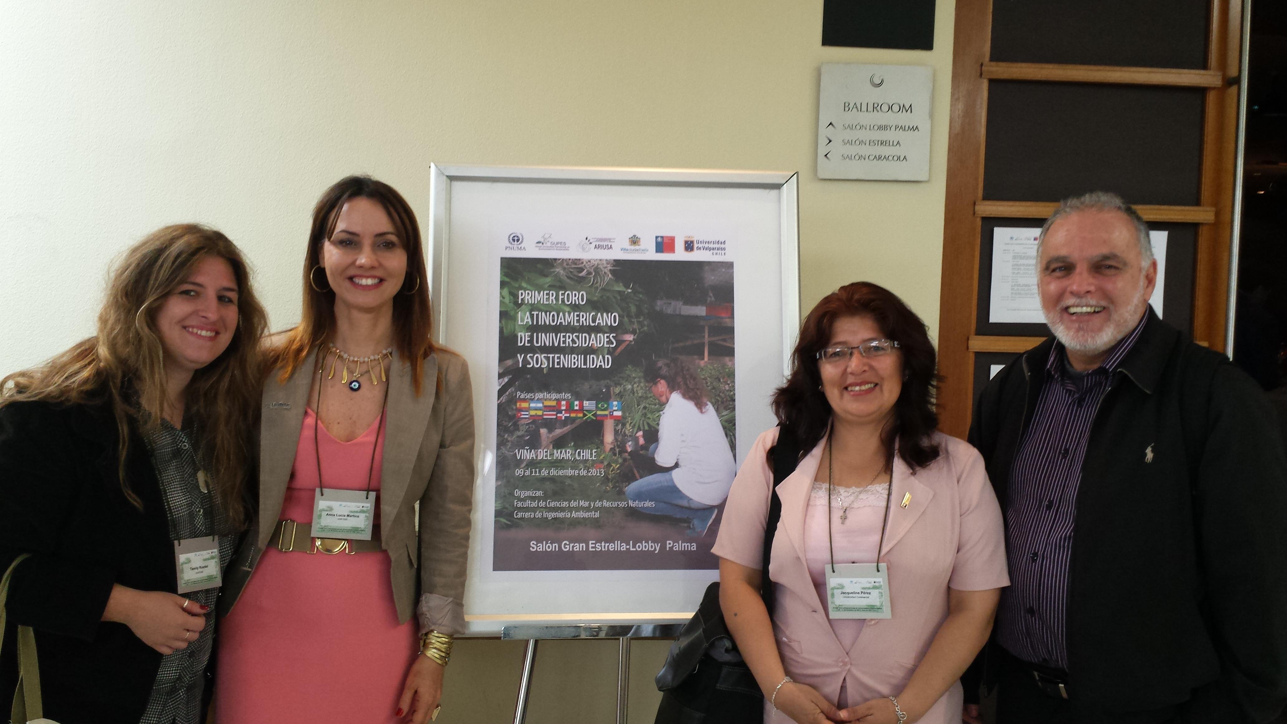 Professoras da UNIFEBE participam de Fórum Latinoamericano
