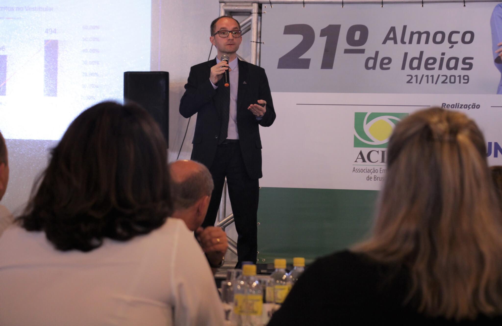 """UNIFEBE apresenta """"Oportunidades e impactos do curso de Medicina em Brusque e região"""""""