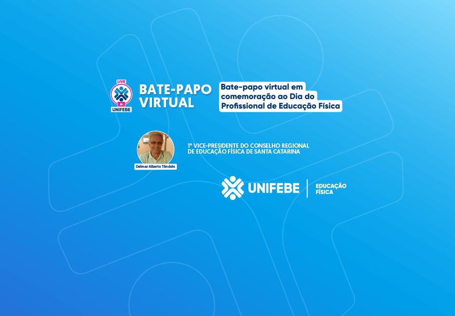 UNIFEBE comemora dia do profissional de educação física com bate-papo virtual