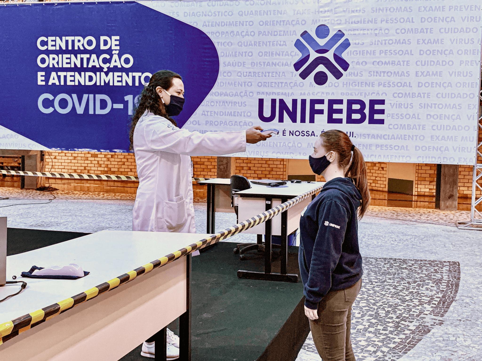 UNIFEBE cria 1º Centro de Orientação e Atendimento COVID-19 para universitários do estado