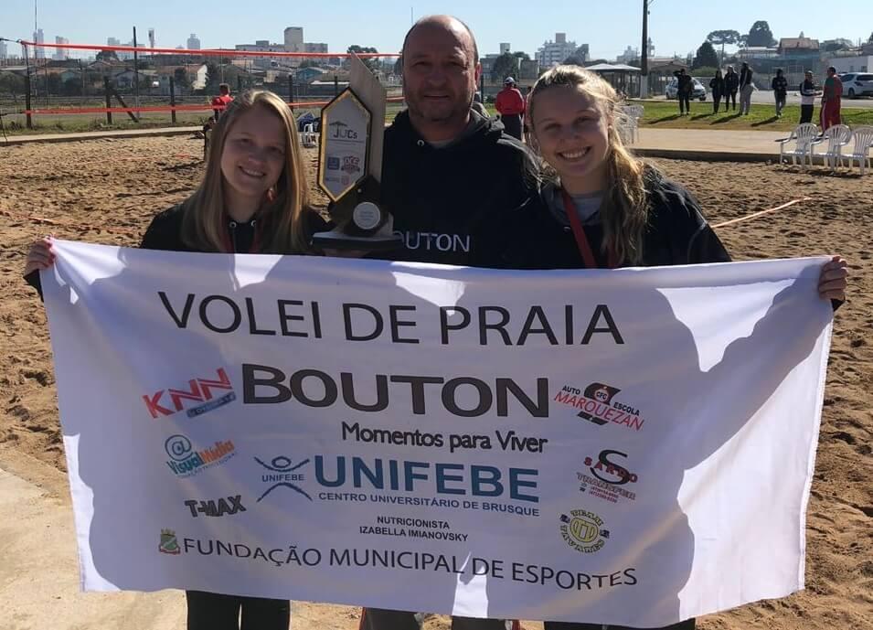 UNIFEBE é campeã do vôlei de praia nos Jogos Universitários Catarinense