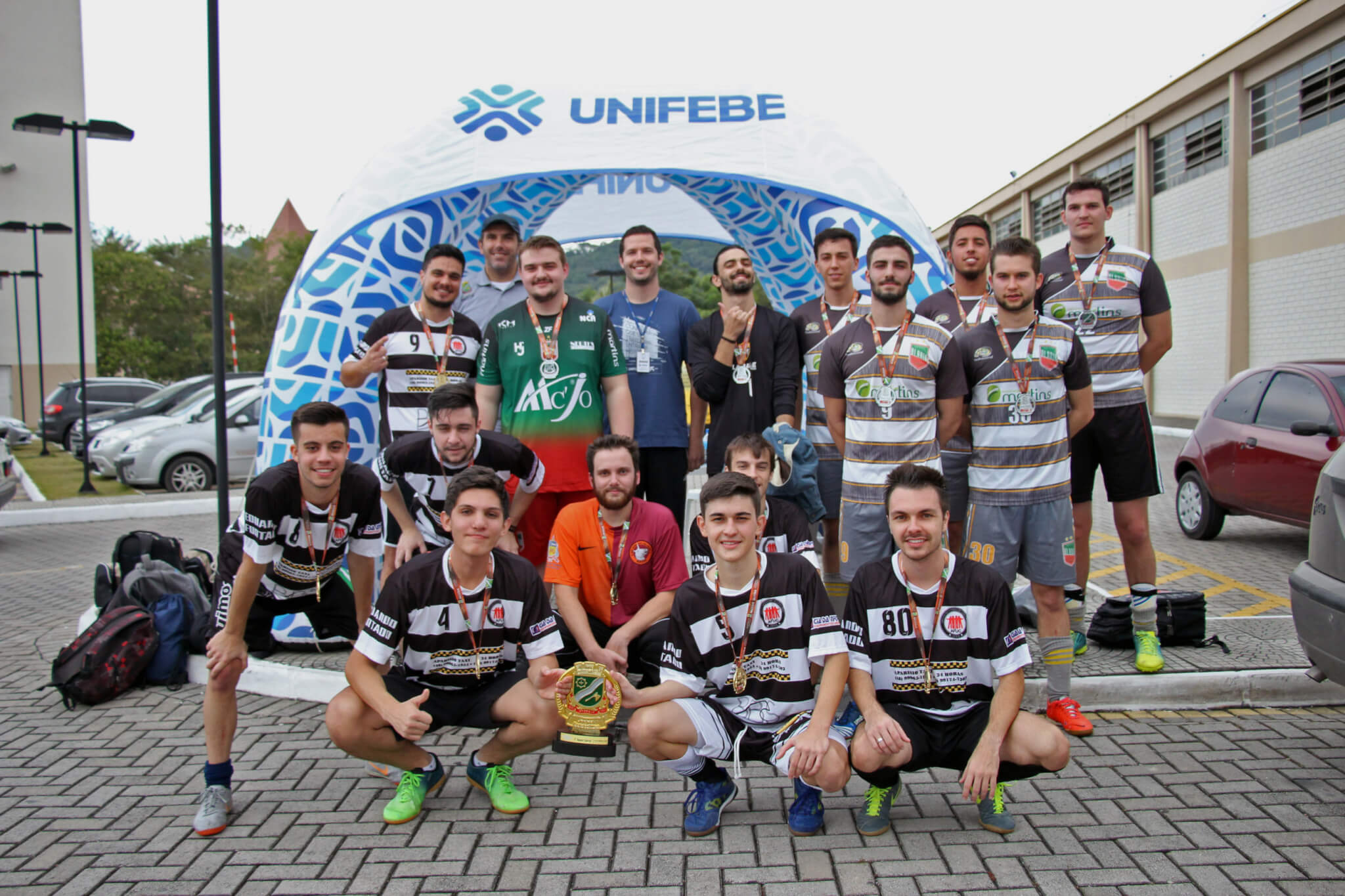 UNIFEBE é pentacampeã dos Jogos Universitários de Brusque