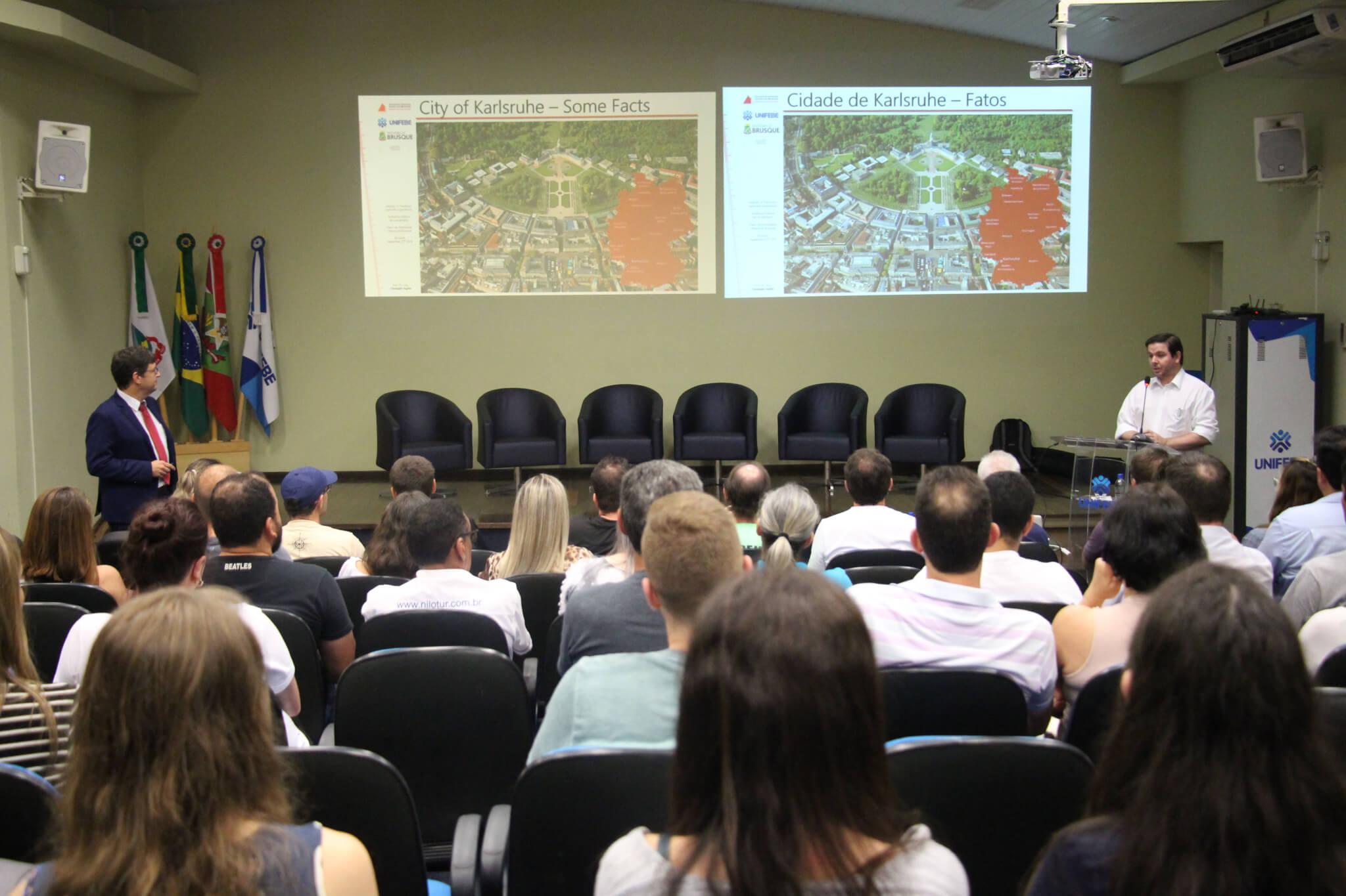 UNIFEBE e Prefeitura de Brusque realizam oficina do Plano de Mobilidade Urbana